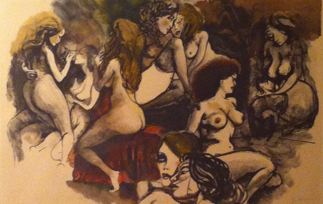Renato Guttuso – Le figlie di Loth