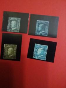 """Lotto francobolli """"Regno delle due Sicilie"""""""