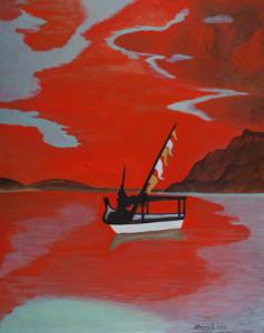 Giuseppe Lucio Sforza – Tramonto sul mare