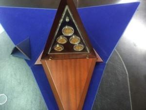 N.2 Piramide Decorativa – Istituto Poligrafico e Zecca dello Stato
