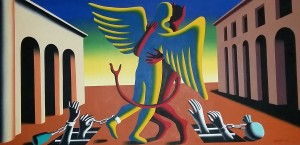 Mark Kostabi – Will power