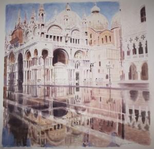 Mauricio Cardenuto – Acqua alta a San Marco