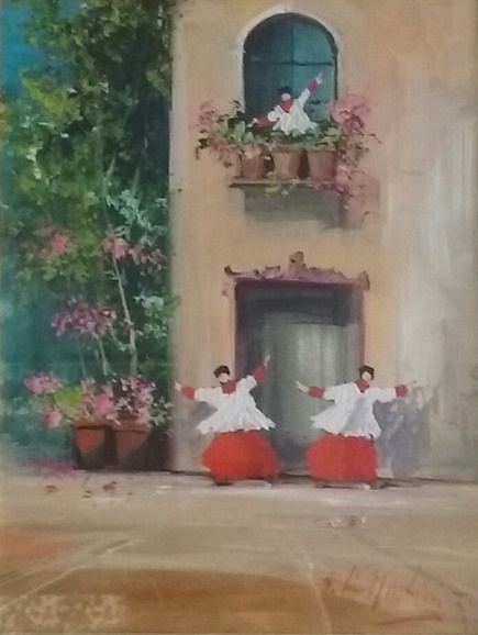 Norberto Martini – Finestre in fiore