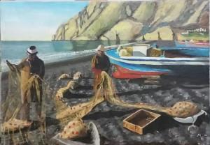 Emilio Meoni – Pescatori in Grecia