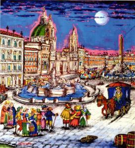 Michele Lapesara – Piazza Navona