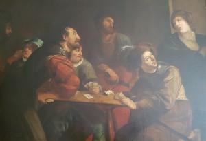 Theodor Ronbouts  – Giocatori di carte esodati nella taverna