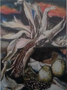 Renato Guttuso – Pannocchie e limoni