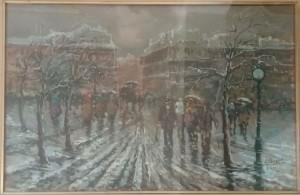 Gaetano Parigino – Strada di Milano