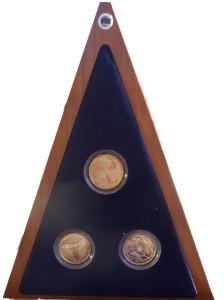 Trittico di Monete commemorative – IPZS