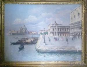 Luigi Lanza – Paesaggio veneziano