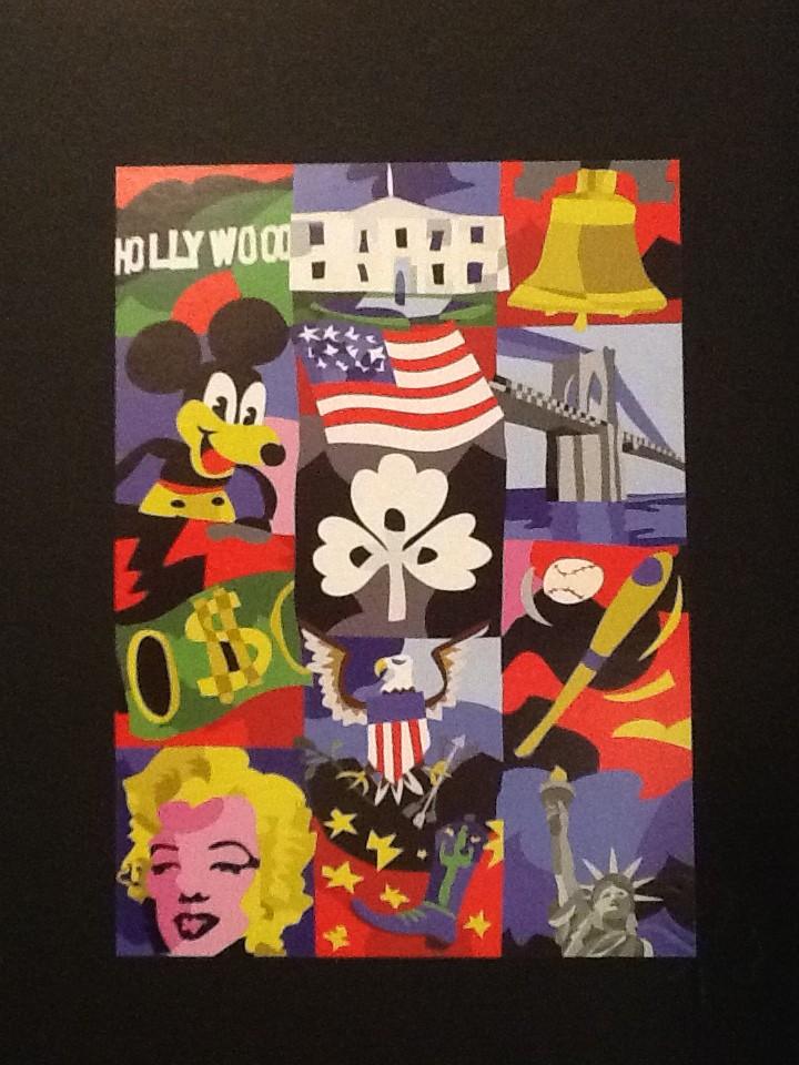 Ugo Nespolo – American Dream