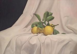 Giovanni Carparelli – Limoni con panneggio