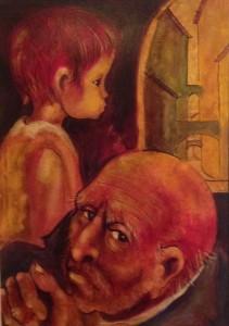 Manuel Campus – Vecchio con bambino