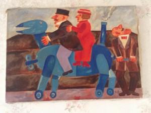 Franz Borghese – Il cavallo meccanico