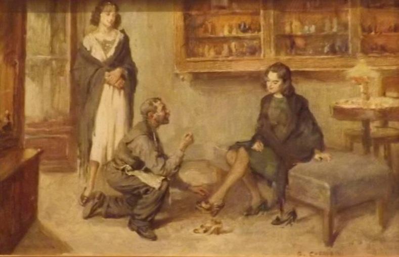Giuseppe Cherubini – Il calzolaio