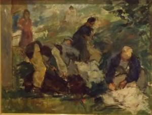 Carlo Cherubini – La tosatura delle pecore