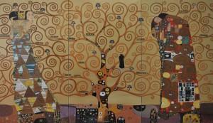 Pelide Mazzola- L'Albero della Vita (Omaggio a Klimt)