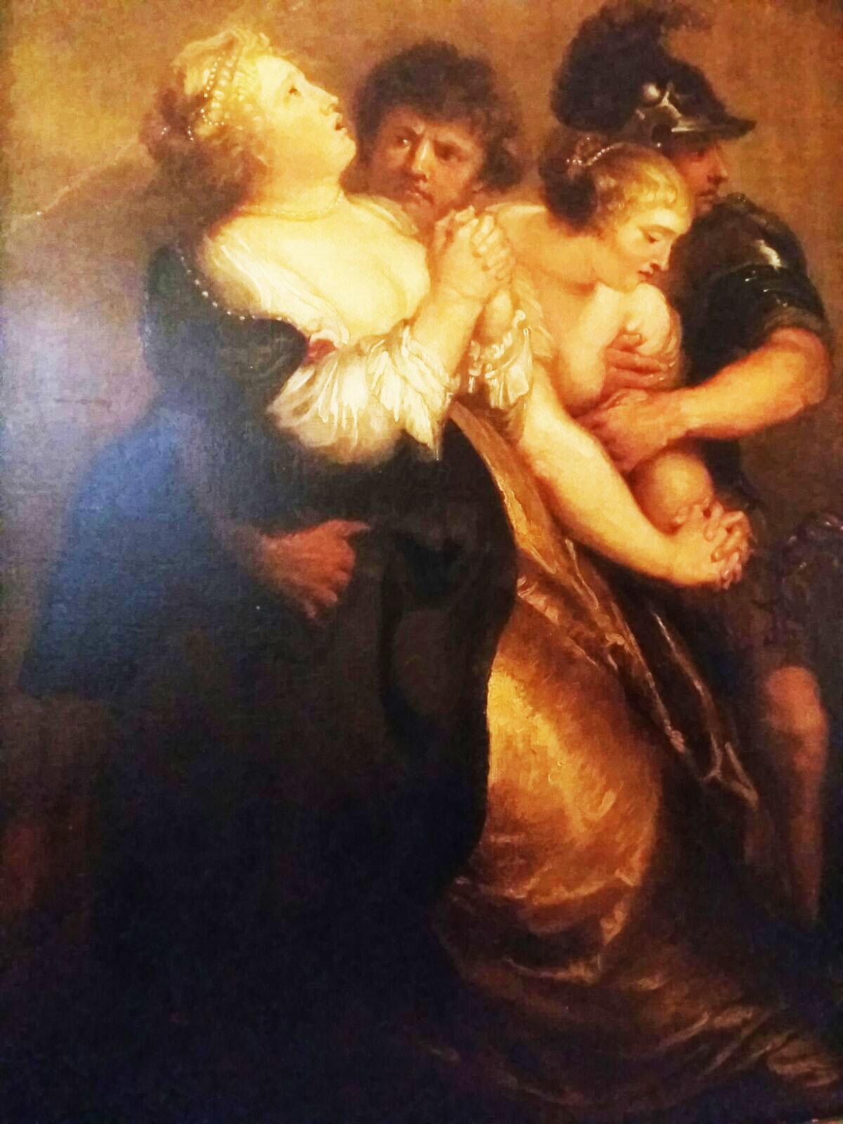 Nikolaus Van Hoy – Ratto delle Sabine
