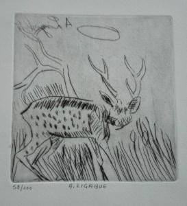 Antonio Ligabue – Cervo