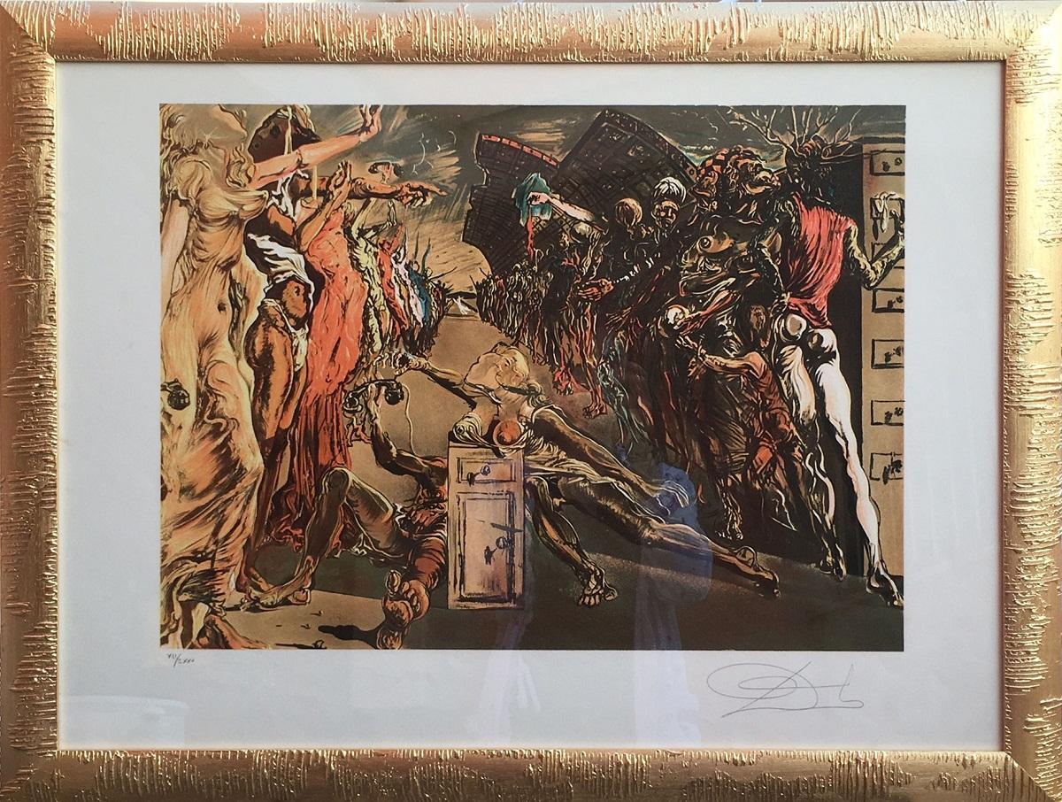 Salvador Dalì – Corridor of palladio