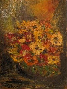 Wanda Sacchelli – Fiori con giallo