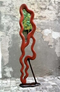 Ferri Lorenzo – Specchio da terra con stampella