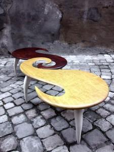 Ferri Lorenzo – Tavolini a spirale
