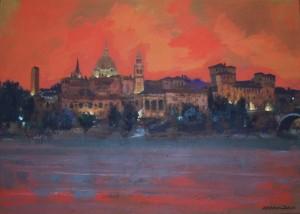 Natale Addamiano – Mantova verso sera