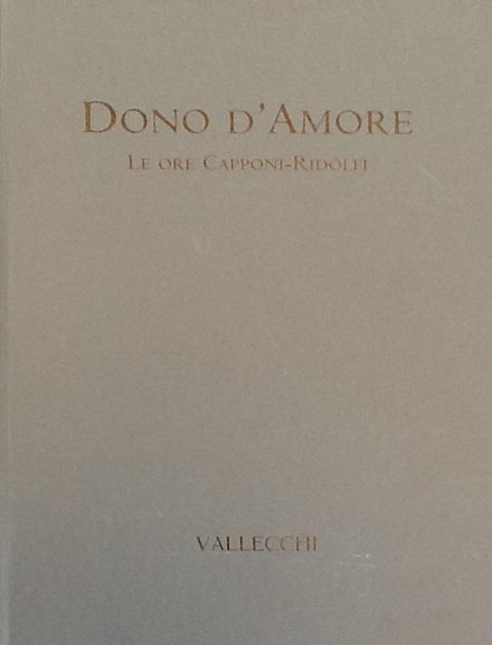 Dono d'amore – Vallecchi editori
