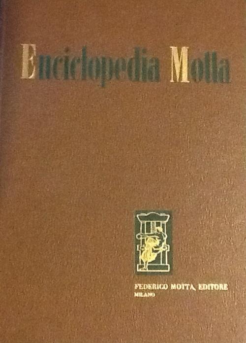 Enciclopedia Motta – Motta editori