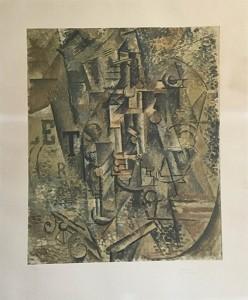 Pablo Picasso – La bouteille de rhum