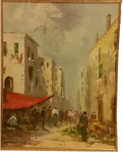 Roberto Carignani – Scene di mercato
