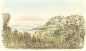Domenico Purificato – Paesaggio di Sperlonga