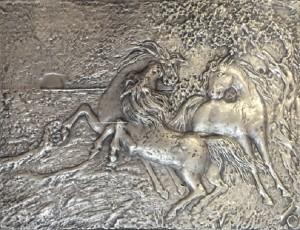 Aligi Sassu – I cavalli del sole