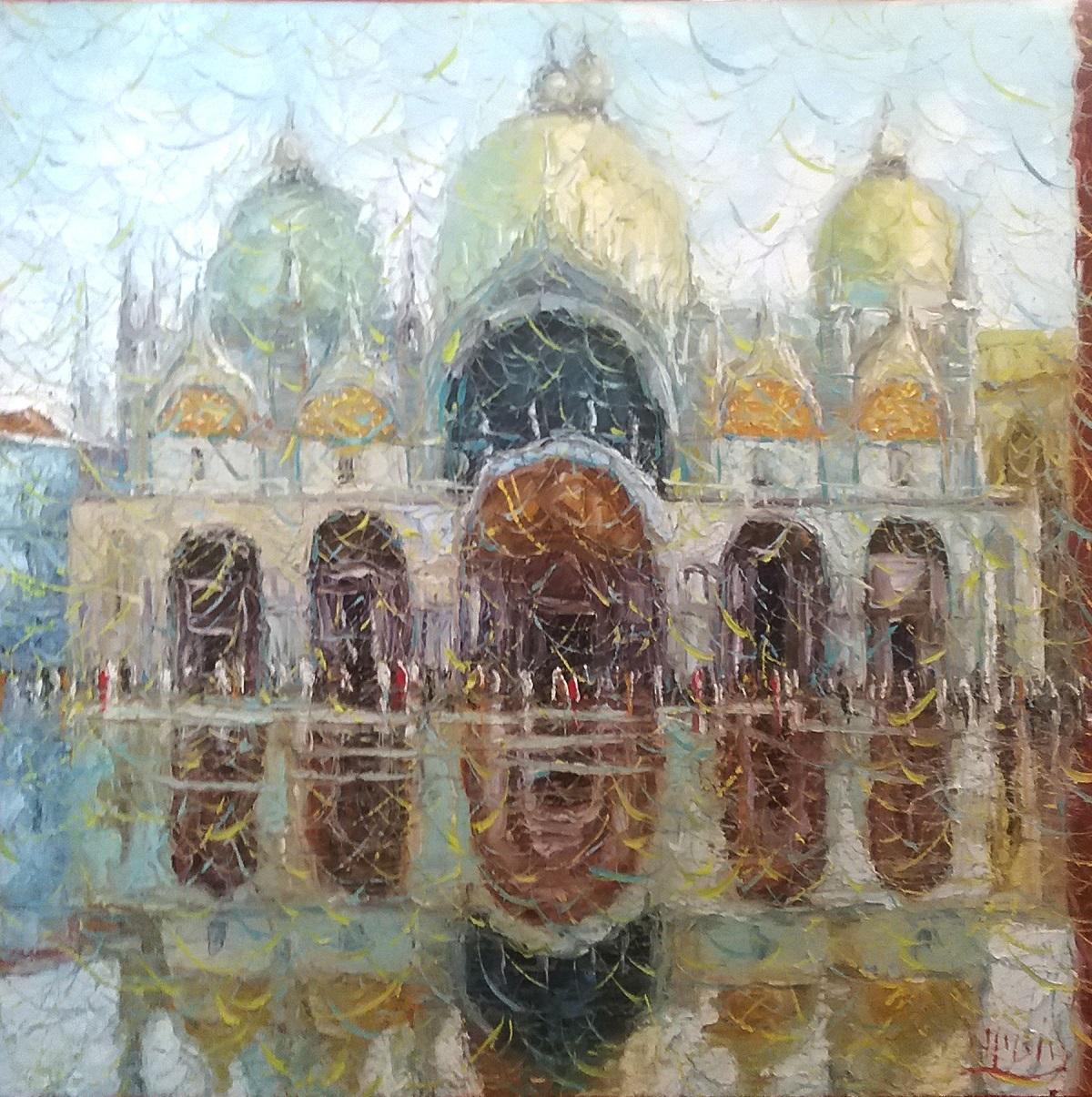 Roberto Masia – Venezia, acqua alta in Piazza San Marco