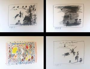 Pablo Picasso – Los Toros