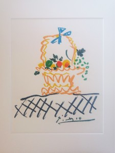 Pablo Picasso – Flowers basket