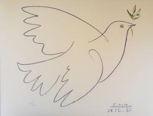 Pablo Picasso – Colomba blu