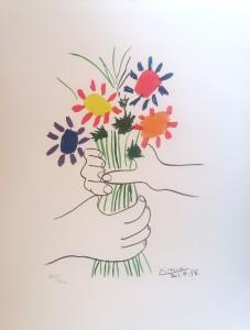 Pablo Picasso – Mazzo di fiori