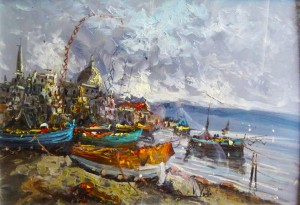 P.Vuotto – Porto con barche