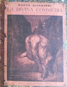 Divina Commedia – Edoardo Sonzogno editore con illustrazioni di Gustave Dorè