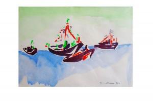 Giangottini Giovanni – Quattro barche