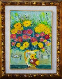 Michele Cascella – Composizione floreale
