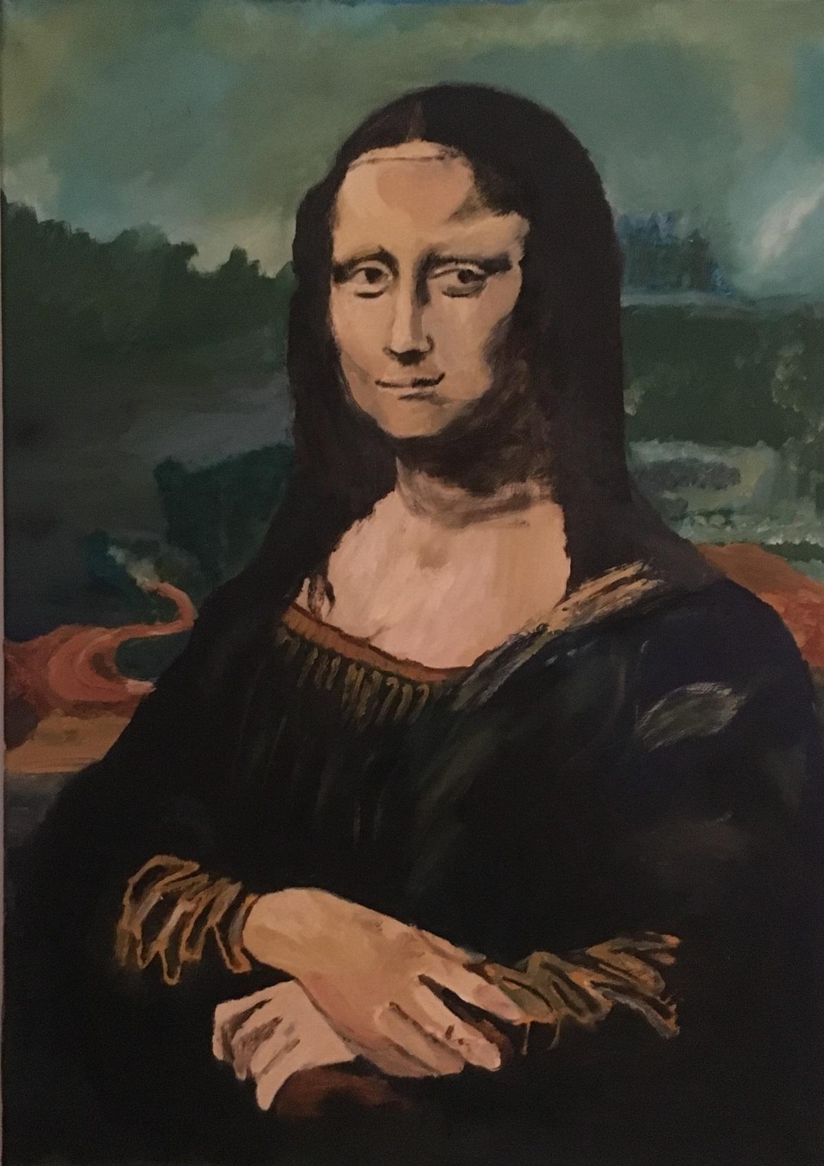 Giuseppe Fonsdituri – La Gioconda