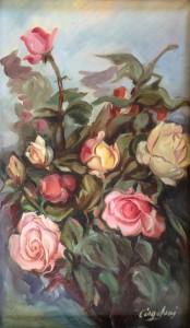 Glauco Cingolani – Rose gialle e rosa