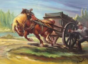 Glauco  Cingolani – Cavallo da tiro