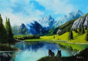 Riccardo Bonfà – Paesaggio montano