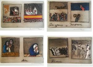 Josè Ortega – Lotto di serigrafie