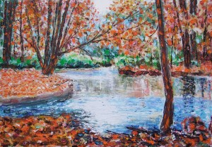 David Giovannini – Stagno d'autunno