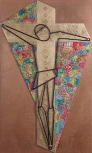 Vito Spada – Crocifisso Geometrico 2